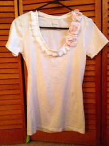 Ruffle and Flower shirt
